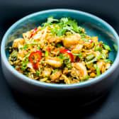 Рис тайський з креветкою (260г)