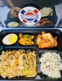 Stir-fried glass noodles doshirak
