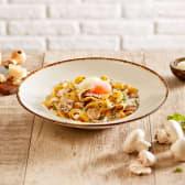 Pappardelle funghi tartufato