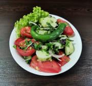 კიტრის და პომიდორის სალათი