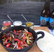 ფახიტასი საქონლის ხორცით