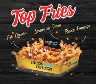 Top fries
