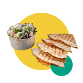 2X კესადია + ბოსტნეულის სალათი