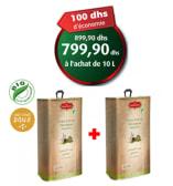 Bio - Promo Sante - Huile D'olive Bio Vierge Extra- 10 L
