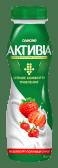 АКТИВІА Біфідойогурт питний 1,5% Полуниця-Суниця (290г)
