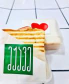 ტოსტი ლორით და ყველით