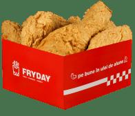 Pui box 5 aripioare ușor picante
