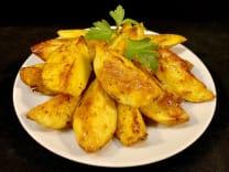 Картопля, запечена дольками (150г)