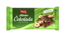 Čokolada s mljevenim lješnjacima Ultra 75 g