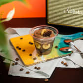 შოკოლადის  დესერტი ბანანით (სამარხო )