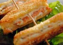 Tempura Saumon Frit Aigre Doux