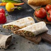 Shawarma in lavash