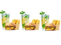 Бургер сет на трьох зі знижкою -20%