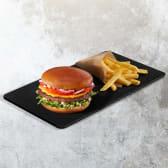 Cheeseburger + Frech Fries
