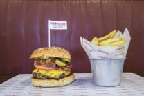 Hall of Famer Burger