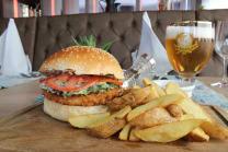 Chickenburger Menu + piće