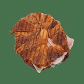 Croissant planxat de pernil i formatge