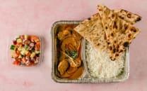 Desi Chicken Curry Lunch Box