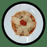 Спагеті з морепродуктами (250г)