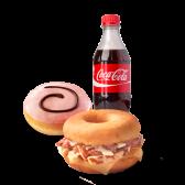 Brunch Combo Gourmet Dunkin Sándwich Refresco