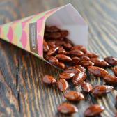 მოხალული ნუში 50 გ/Roasted Almond with Caramel 50 g