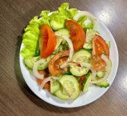 Салат по-домашньому з олією (150г)