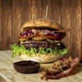 Burger Bekon Wypas 210g