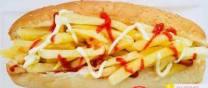 Fries sandwich