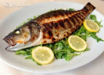 Grilled Trout, 400g.