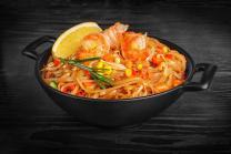 Рисова лапша в соусі пад-тай з креветками (350г)