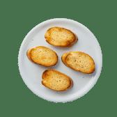 Pieczywo czosnkowe bez sera