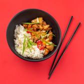 Рис з куркою в кисло-солодкому соусі (300г)