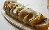 Smoked salmon Roll (8 pcs)