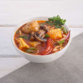 Томатний суп із Тофу (500/10г)