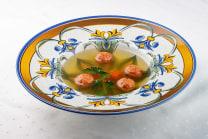 Суп А-ля шеф із щучими фрикадельками (300г)