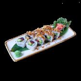 131. Uramaki Special crunchy atún (8 uds)