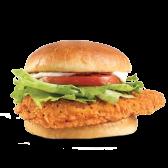 ცხარე ქათმის ბურგერი/Spicy Chicken Burger
