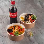 SK Combo 1 (Рис з морепродуктами, суп Том Ям Кунг з креветками, Кола)