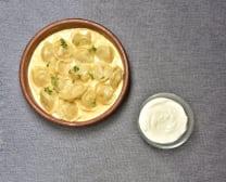 Пельмені в сирному соусі (350г)