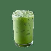 Iced Matcha Tea Latte