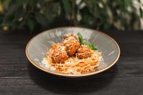 Паста з соусом Пілаті та мітболами (350г)