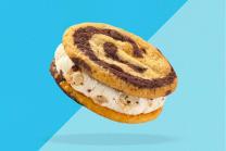 B&J's Wich Cookie Dough Biscotto