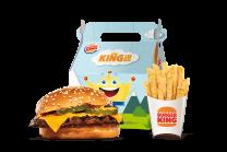 Cheeseburger dječji menu