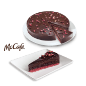 Čokoladna torta s crnim ribizom 14 kom