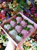 Pink & White 9 pcs