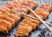 Teppanyaki Saumon