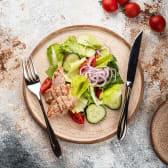 Салат Овочевий з куркою (150/30г)