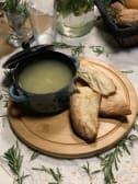 მჟავე კიტრის წვნიანი (გურულად)