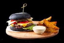 Бургер Black Beef BBQ (360/120/50г)