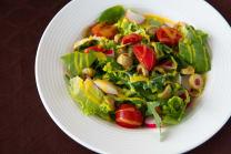 Mix leaves Salad